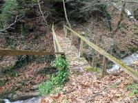Ξύλινο γεφυράκι στον Χρυσιώτη