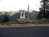 Μνημείο προς τιμή των πεσόντων στη θέση