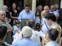 Λειτουργία στο Άγιο σεραφείμ με την ευκαιρία του ερχομού της σεπτής Κάρας του (2)